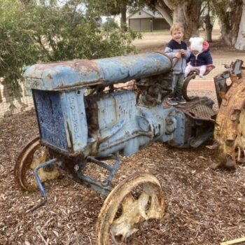 Tractor fun!